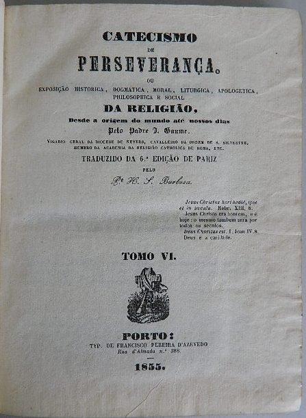 330: Padre- Catecismo De Perseveranca - 7
