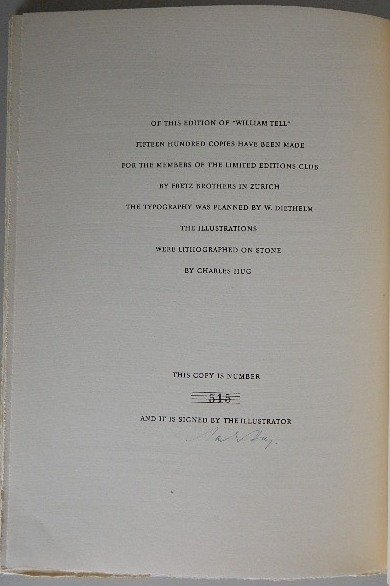 439: 2 Limited Editions Club books 1951 - 8