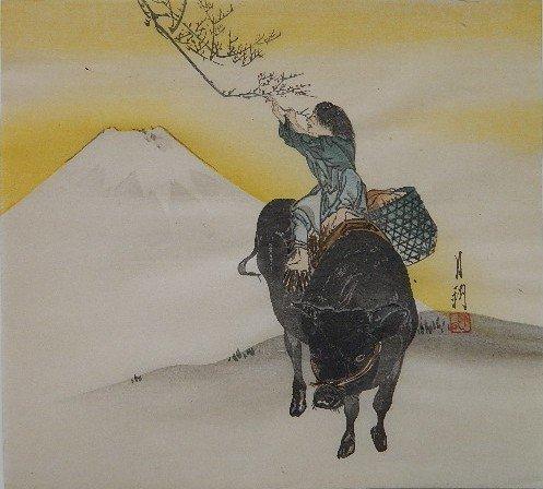 16: Gekko Ogata woodblock