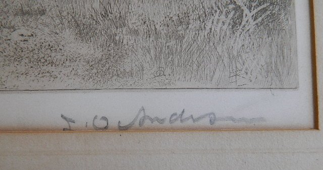 23: J. O. Anderson etching - 3