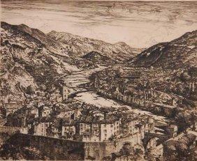 Samuel Chamberlain Dry Point