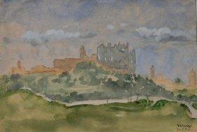 Arthur B. Davies Watercolor