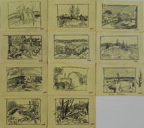 71: Carl Gaertner 11 graphite