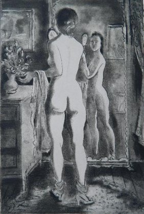 Emil Ganso Etching And Aquatint