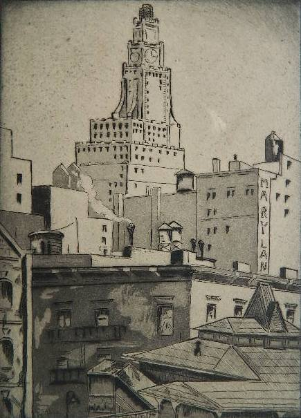 77: Emil Ganso 2 etching and aquatint
