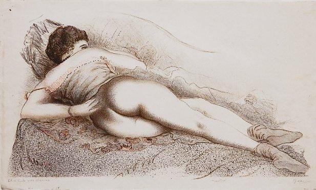 79: Emil Ganso lithograph