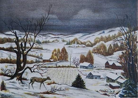 80: Emil Ganso lithograph
