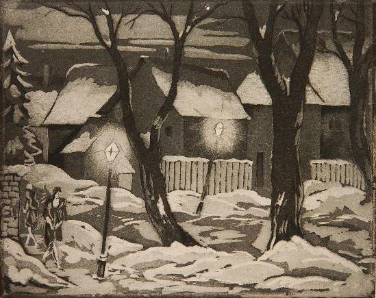 81: Emil Ganso aquatint