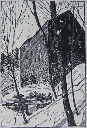 Frederic William Goudy Woodcut