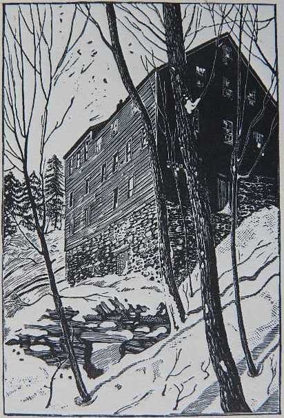 81A: Frederic William Goudy woodcut
