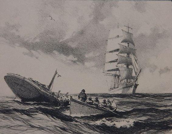 86: Gordon Grant lithograph