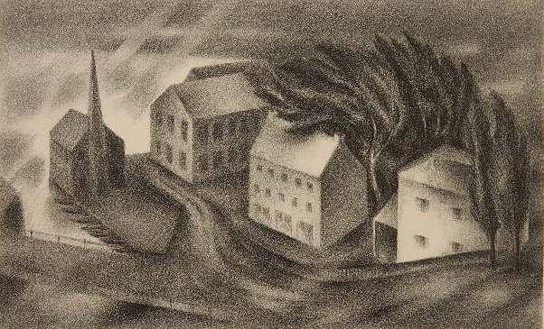 95: Albert Heckman lithograph