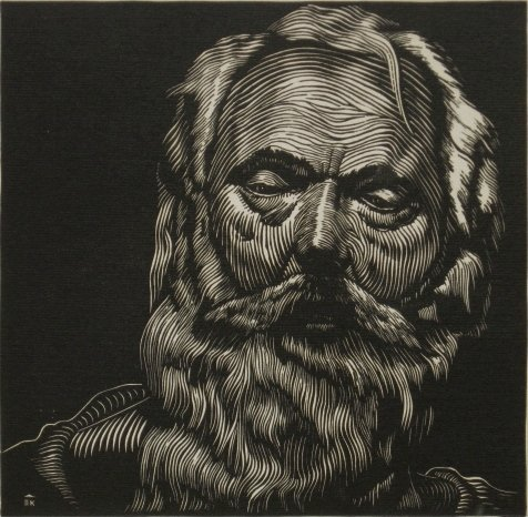 110: Sheffield Kagy woodcut