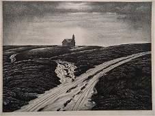 221 Edward A Wilson lithograph