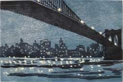 457: Richard Bosman woodcut
