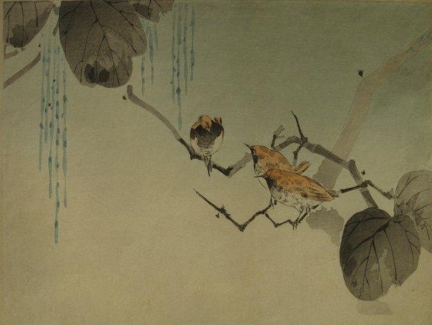 1: 19/20th c. Japanese woodblock