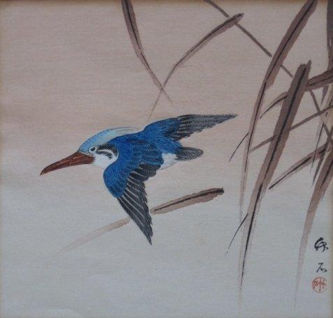9: 20th c Japanese School woodblock