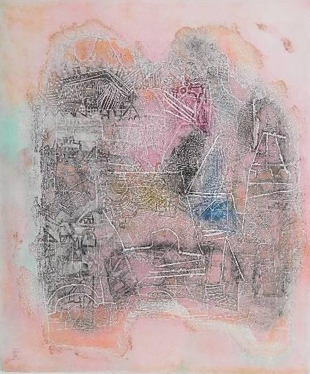 16: Shoichi Haegawa etching in colors