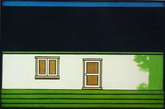 23: Kazuhisa Honda mezzotint in color