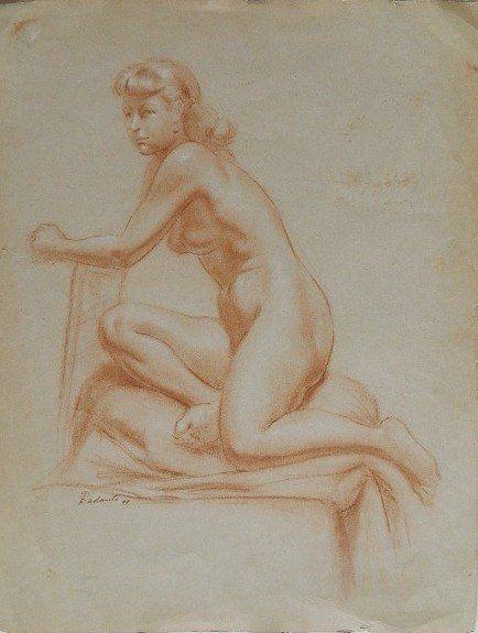 175B: Michael Dadante conte crayon