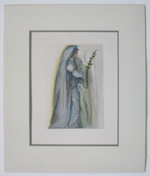 177: Salvador Dali wood engraving