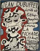 203: Jean Dubuffet exhibition poster