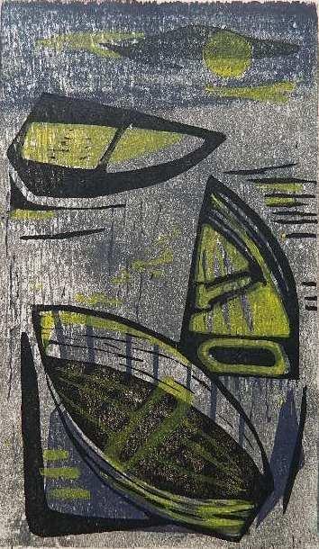 278: Hildegarde Haas woodcut
