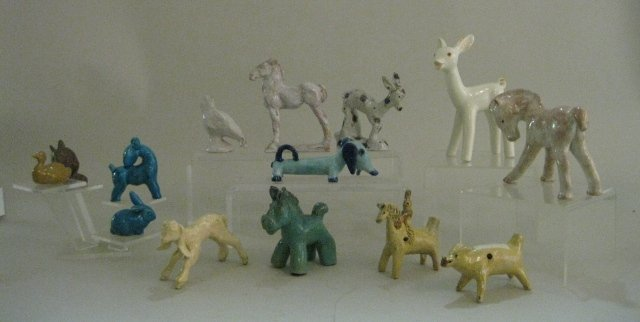 3: 14 Ceramic Animals