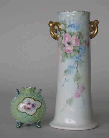 16 Austrian And Nippon Vases