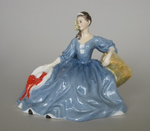 24: Royal Doulton porcelain figurine