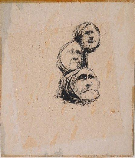 437: Tom Wilson pen and ink