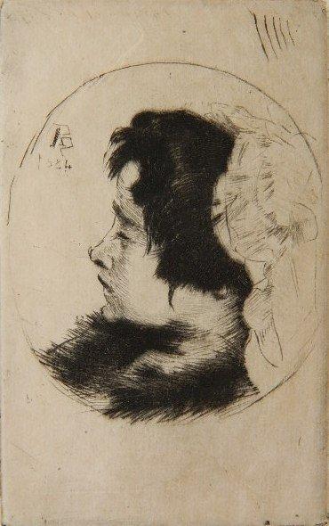 442: Albert Besnard etching