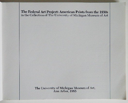 4: ''The Federal Art Project''