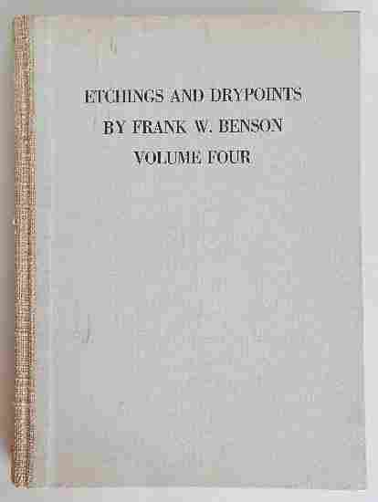 24: Paff ''Etchings and Drypoints by Frank Benson''