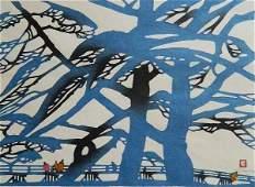 71: 20th c. Japanese School 2 block prints
