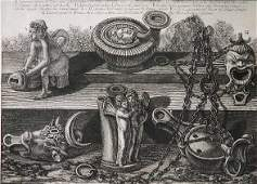 458: Giovanni B. Piranesi etching