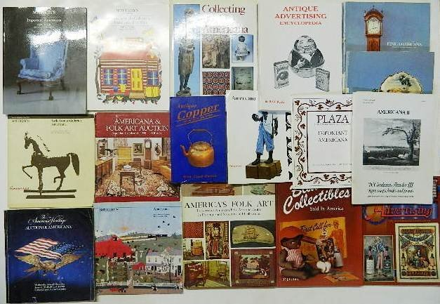 704: 13 Books and Auction Catalogs