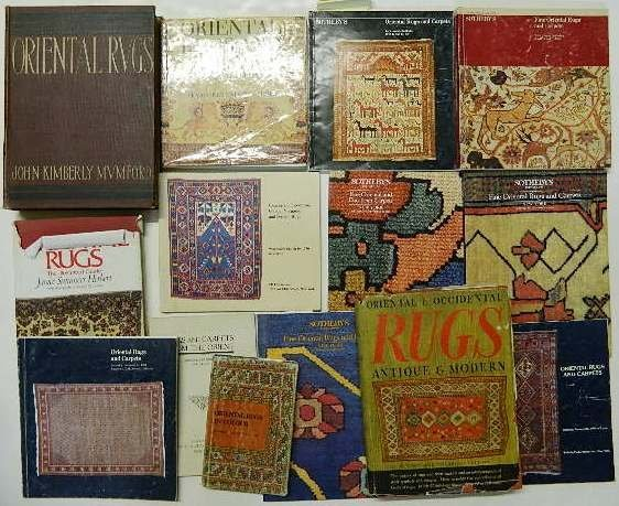 705: 13 Books & Auction Catalogs on Oriental Rugs