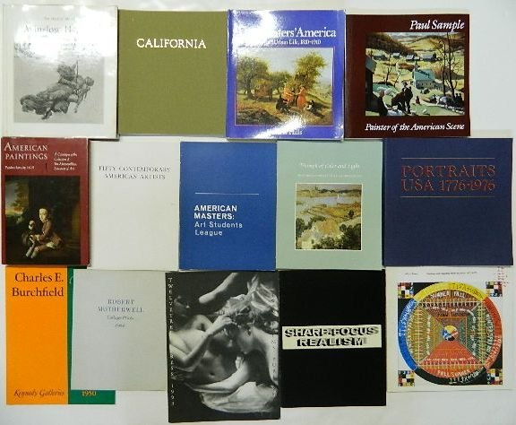 707: 30 Books and catalogs on American art