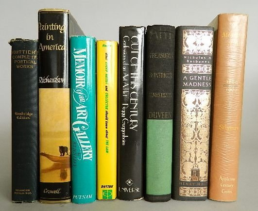 710: 7 Books on art and collecting