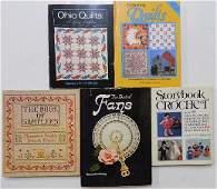 1289: 5 Books on textiles