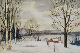 Kinley Shogren watercolor