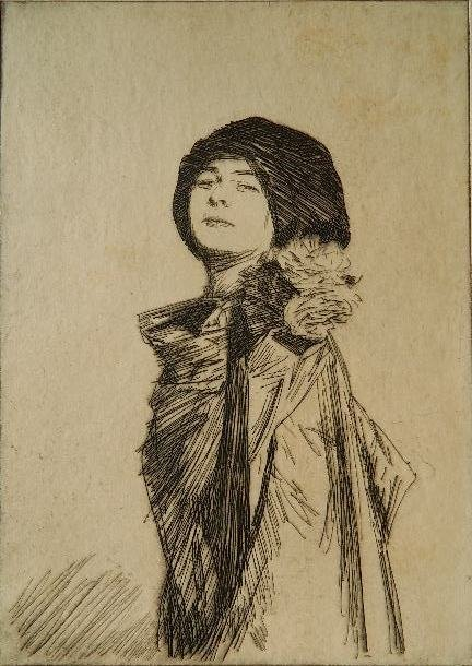 Joseph Simpson etching