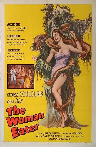 Movie Poster - ''The Woman Eater''
