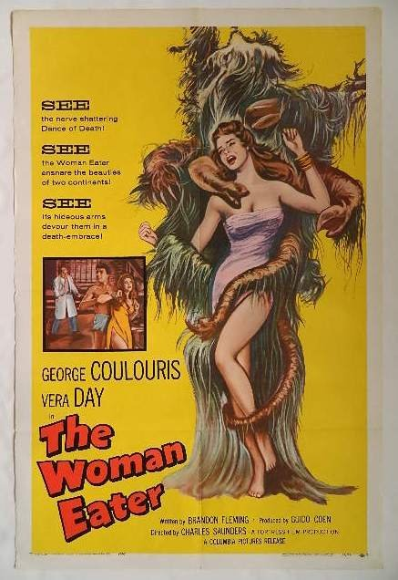 Movie Poster - ''The Woman Eater'' - 2