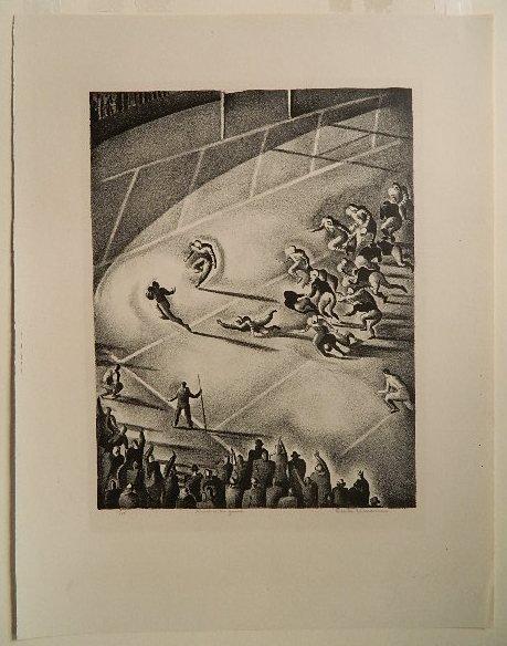 Benton Spruance lithograph - 2