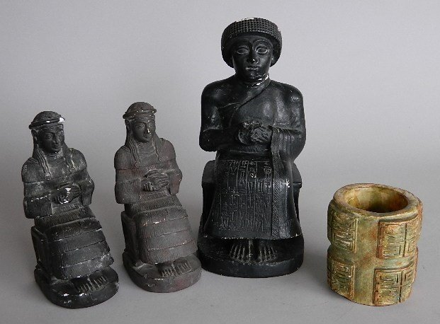 4 Chinese reproduction items