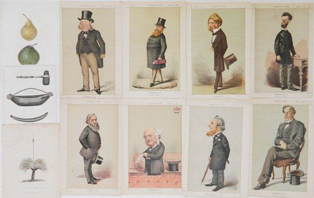 Assorted prints- Vanity Fair; Costume Suisses,etc.
