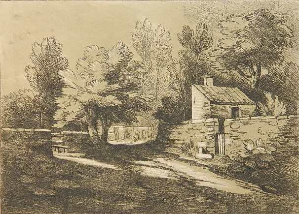 after Thomas Gainsborough etching