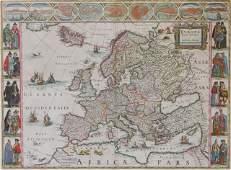 J  C Blaeu Europe map